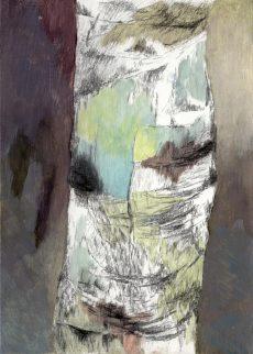 Winterreise | 2012 | Wachstempera auf Karton | 18 x 25 cm