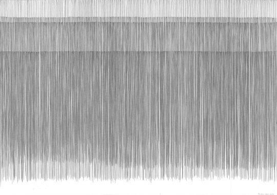 4x-ausatmen4 x Ausatmen | 2016 | Atempartitur | Bleistift auf Papier | 88 x 62 cm_8