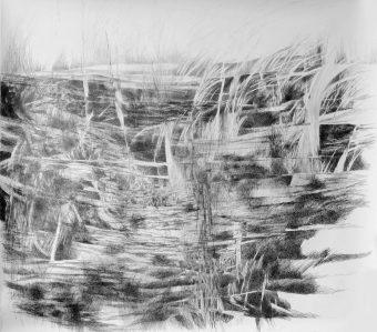 ohne Titel | 2012 | Bleistift auf Papier | 150 x 135 cm