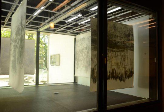 «Bis zum Äussersten» | Ausstellung Kunstkabine Kantonsschule Wiedikon Zürich | 2014