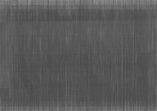 Atemgewebe 4 | 2017 | Bleistift und Farbstift auf Papier | 88 x 62 cm