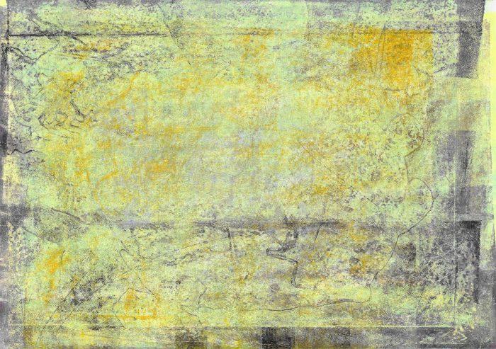 Atemkarte | 2016 | Monotypie | 88 x 62 cm